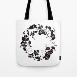 black orchid Tote Bag