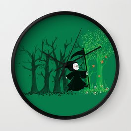 The hills WERE alive Wall Clock
