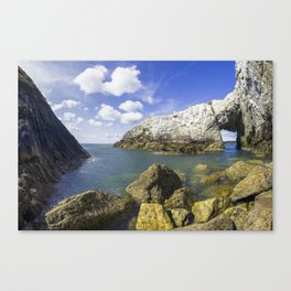 The White Arch  Canvas Print