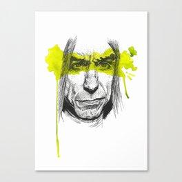 Iggy portrait Canvas Print