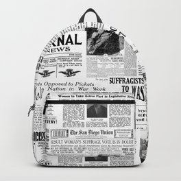 MAKING AMERICA GREAT - WOMEN'S SUFFRAGE Backpack