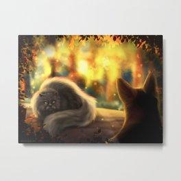 Firepaw and Yellowfang Metal Print