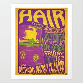 Hair Retro Art Print