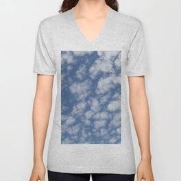 TEXTURES:Just Clouds #2 Unisex V-Neck