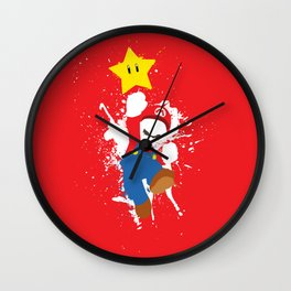 Mario Paint Wall Clock