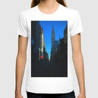 gotham T-shirts featuring Gotham City by The Electric Blue / Yen-Hsiang Liang (Gr