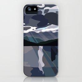 San Juan Islands: Storm Passing iPhone Case