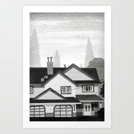 Places I've Lived Series - 9 Art Print