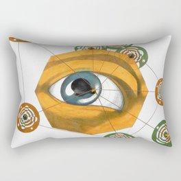 constellation n. 9 (ORIGINAL SOLD). Rectangular Pillow