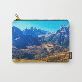 Autumn trekking in the alpine Pusteria valley Carry-All Pouch
