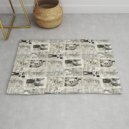 Universal Monster Pattern Rug