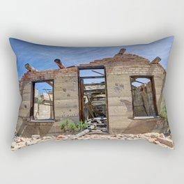 Abandoned Building - Nine Mile Canyon - Price - Utah Rectangular Pillow