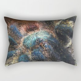 Greenbottle Blue Tarantula Rectangular Pillow