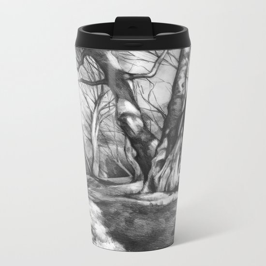 Musing of Trees Metal Travel Mug