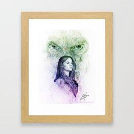 A Good Man? Framed Art Print