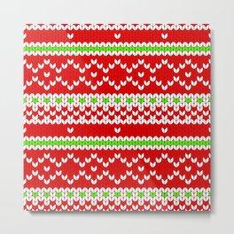 Christmas Sweater Metal Print