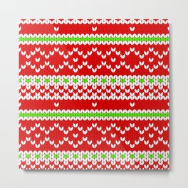 Christmas Sweater Metal Print