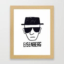 (H)Eisenberg Framed Art Print