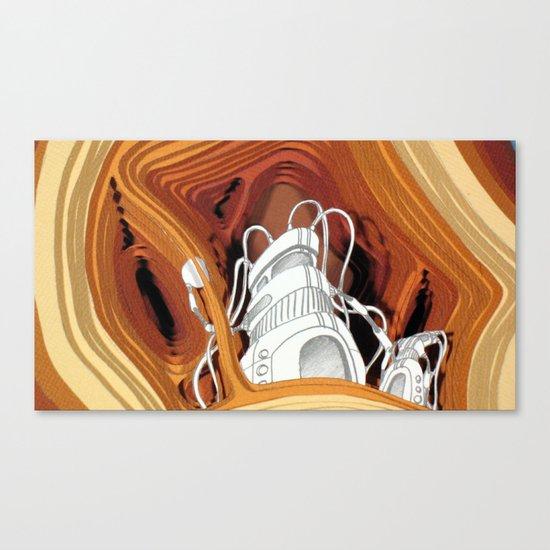 Fermatic Embrace Canvas Print