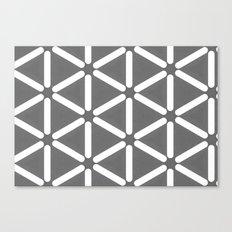 Wildeman Grey Pattern Canvas Print