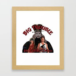 """Big Trouble"" Framed Art Print"