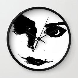 M.S.S.B.I.M: Fem Joker (Black and White) Wall Clock