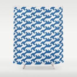 Nintendo .blue Shower Curtain