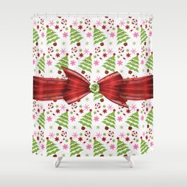 Christmascandy Shower Curtains