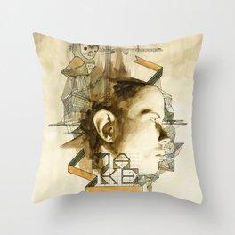 The Architect Throw Pillow
