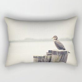 keeping watch 2 Rectangular Pillow