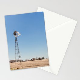 Windmill and Blue Skies Stationery Cards