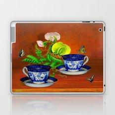 Teacups with Snap Peas Laptop & iPad Skin