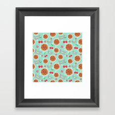 Oh My, Cherry Pie! Framed Art Print