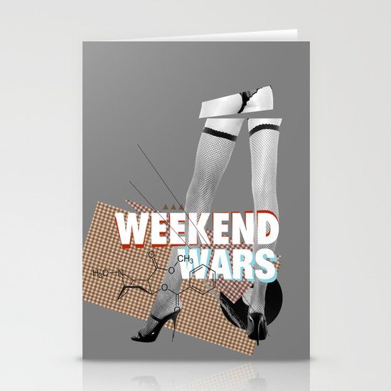 Weekend Wars Stationery Cards