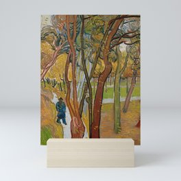 The Garden of Saint-Paul Hospital by Vincent van Gogh Mini Art Print