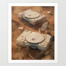 SpaceStation 1 Art Print