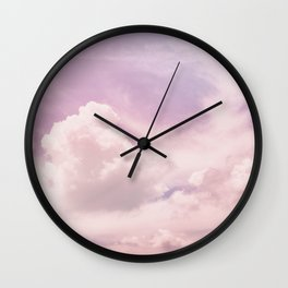 Upon The Clouds Wall Clock