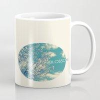 blossom Mugs featuring Blossom by Volkan Dalyan