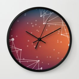 Abstract Background 13 Wall Clock