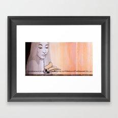I'm not afraid anymore Framed Art Print