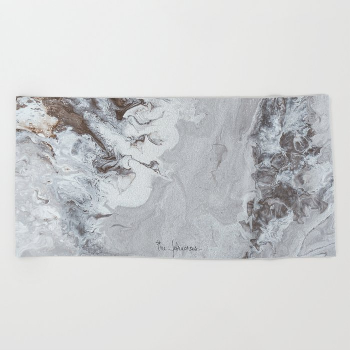 Winter Copper Beach Towel