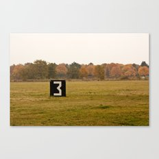 The 3 Tempelhof Canvas Print