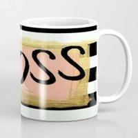 boss Mugs featuring #boss by herejustbc;