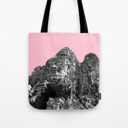 Part of Angkor Wat with pink Tote Bag