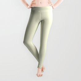 Solid Light Beige Color Leggings