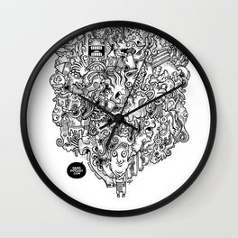 Oven Mitt Machine Wall Clock
