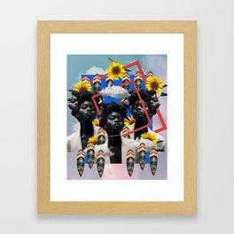 Ancestral Manifestation Framed Art Print