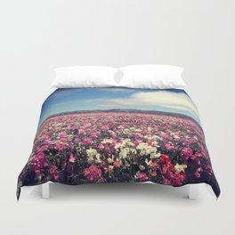 SEA OF FLOWERS Duvet Cover