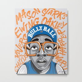 90's Bully Ball Metal Print