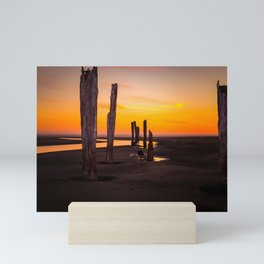 Pacific Beach Sunset Mini Art Print